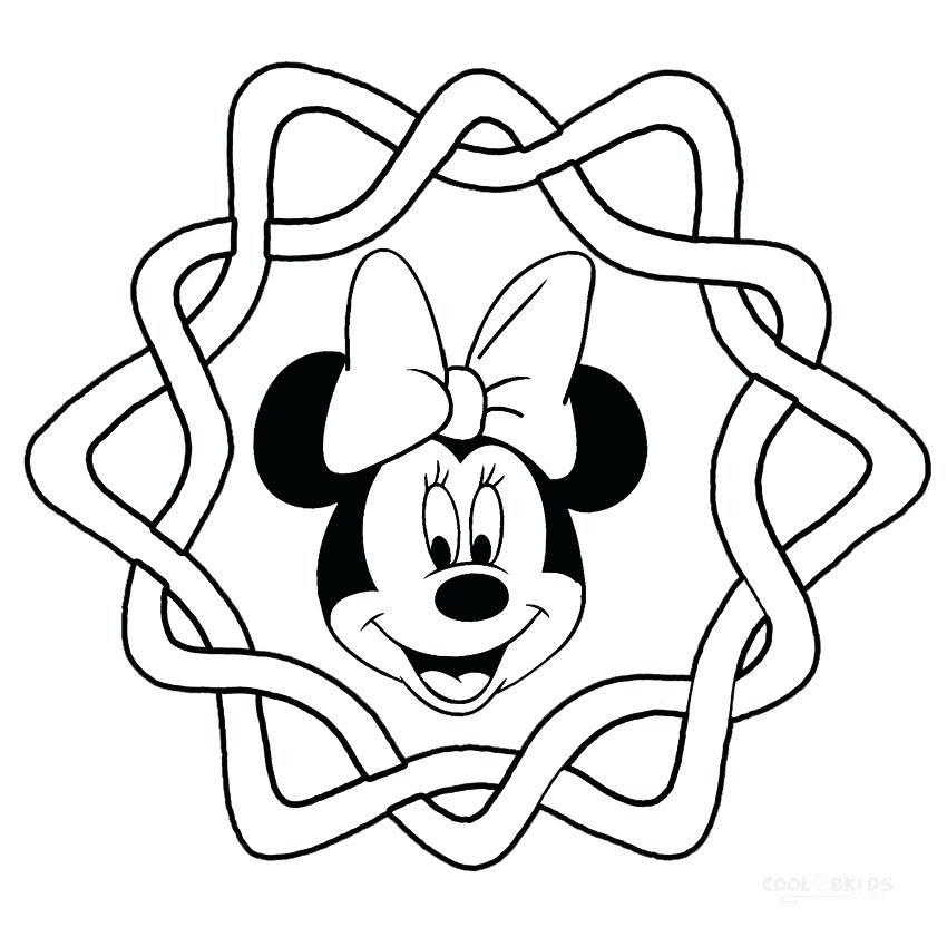 Cute Mouse Coloring Page