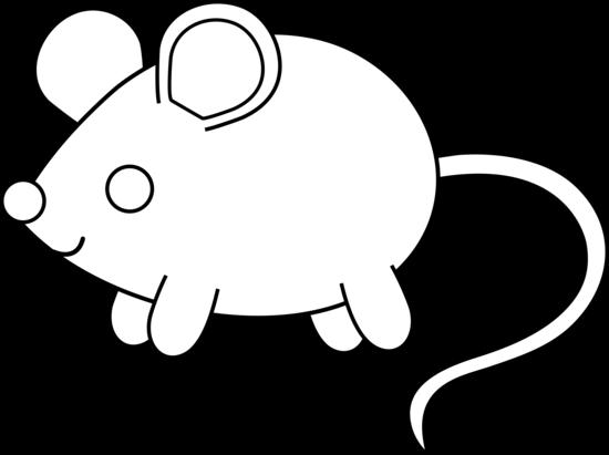 550x411 Cute Colorable Mouse