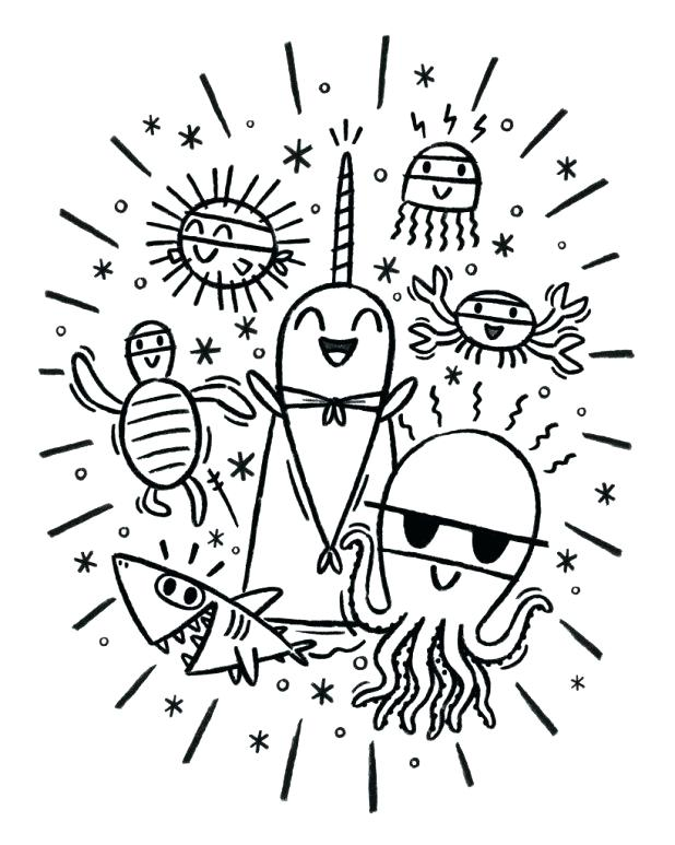 618x773 Coloring Inspiring Narwhal Coloring Page Narwhal Coloring Pages