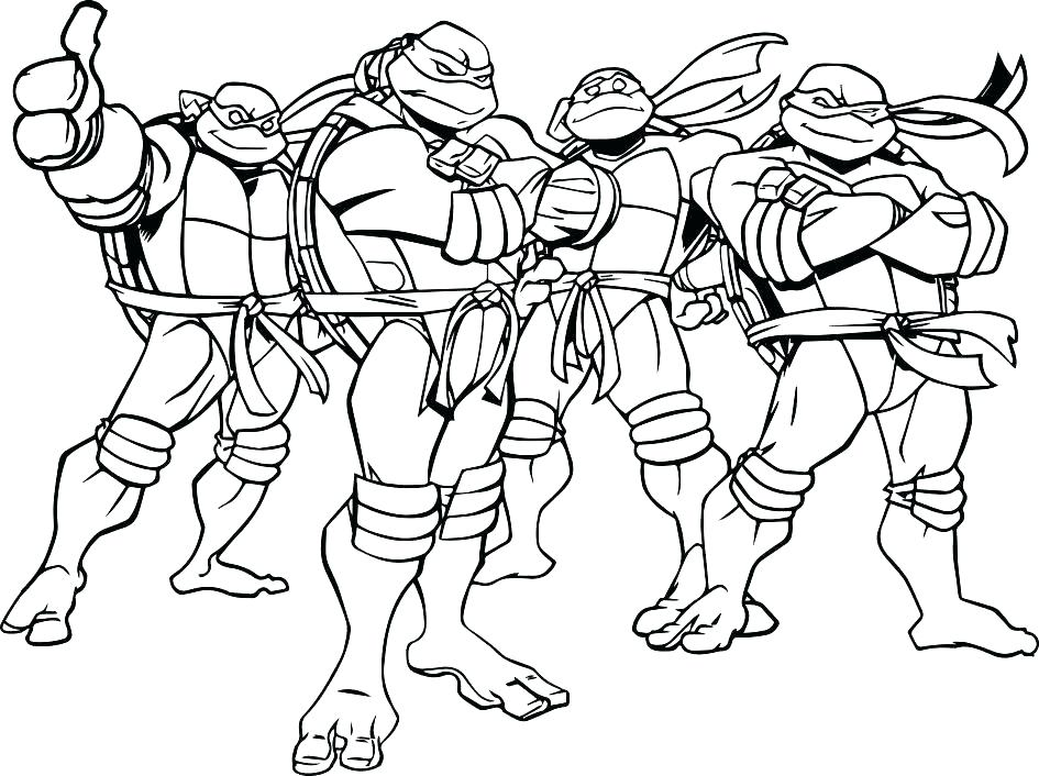 945x706 Ninja Turtle Color Pages Ninja Turtle Color Pages Ninja Turtle