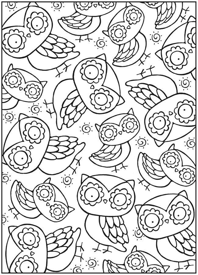 650x901 Free Snowy Owl Coloring Page Wink Owl Coloring Page Crayon Pages