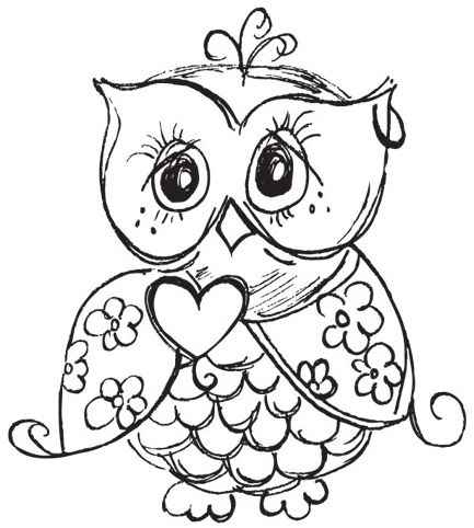 433x482 Owl Color Sheet Best Owl Coloring Pages Ideas On Free