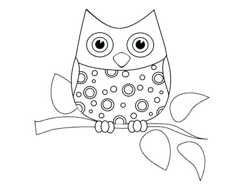 500x386 Baby Owl Coloring Pages Owl Color Pages Charming Cute Owl Coloring