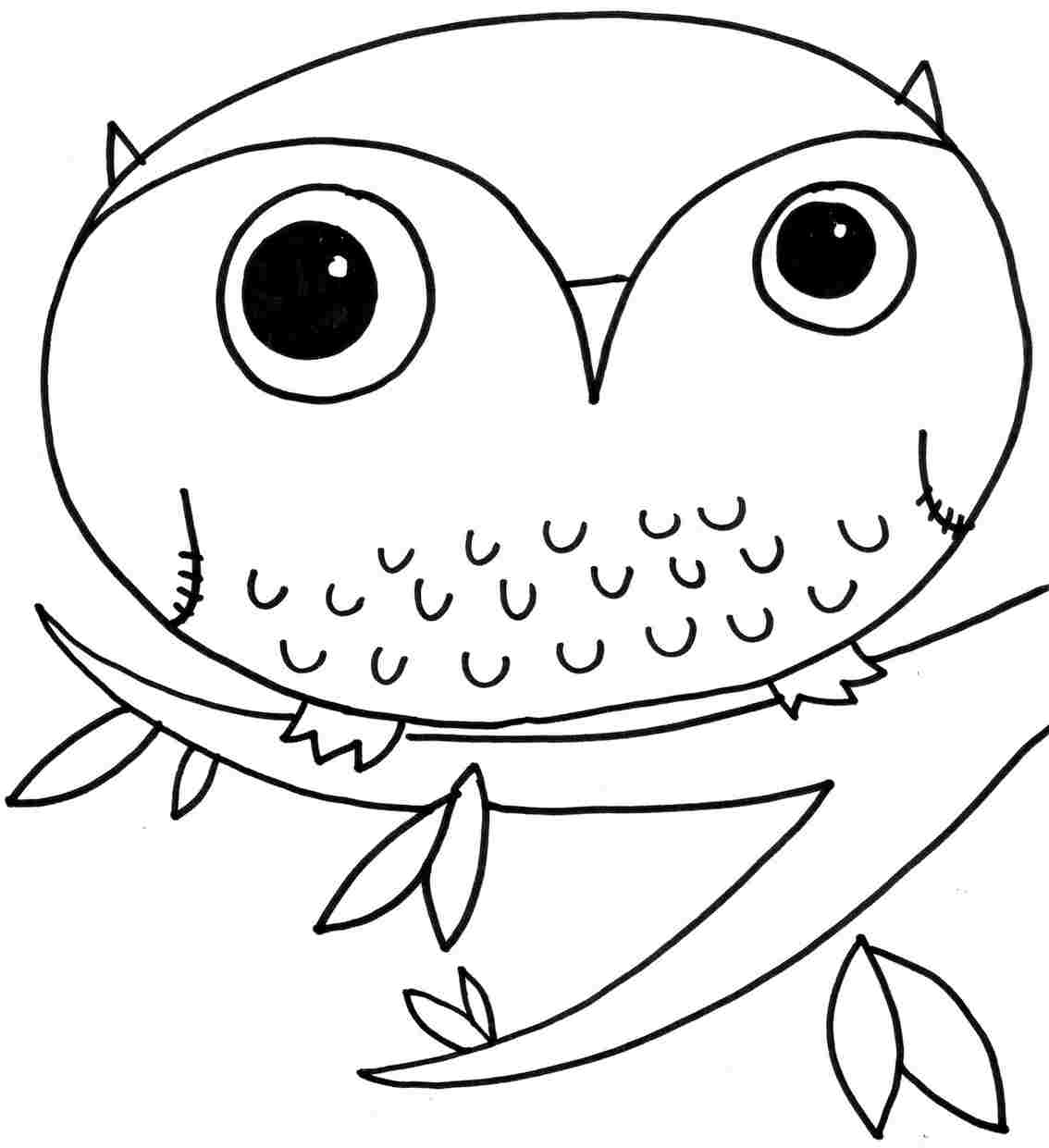 1134x1241 Cute Owl Coloring Pages Inspiring Ribsvigyapan Cute Cute