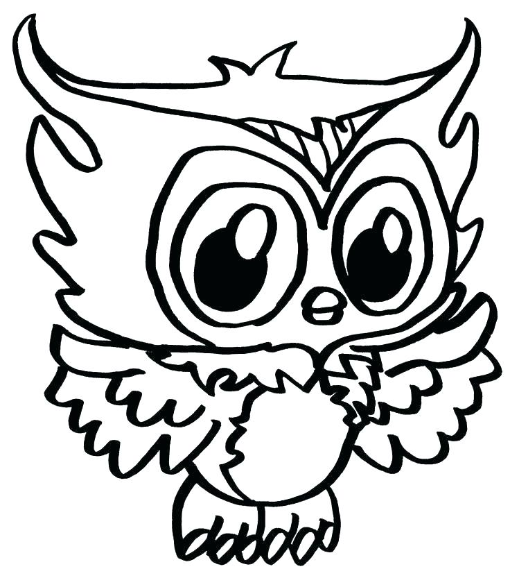 736x820 Cute Owl Coloring Pages Owl Coloring Pages Free Printable Free