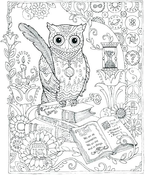 474x575 Owls Coloring Pages Free Printable Cute Owl Coloring Pages Page