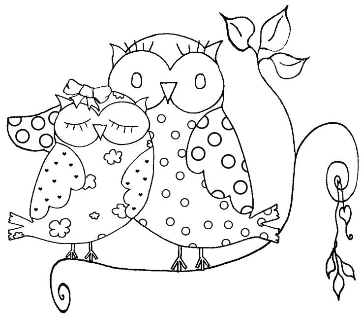 736x641 Snowy Owl Coloring Pages Owl Coloring Pages To Print Plus Amazing