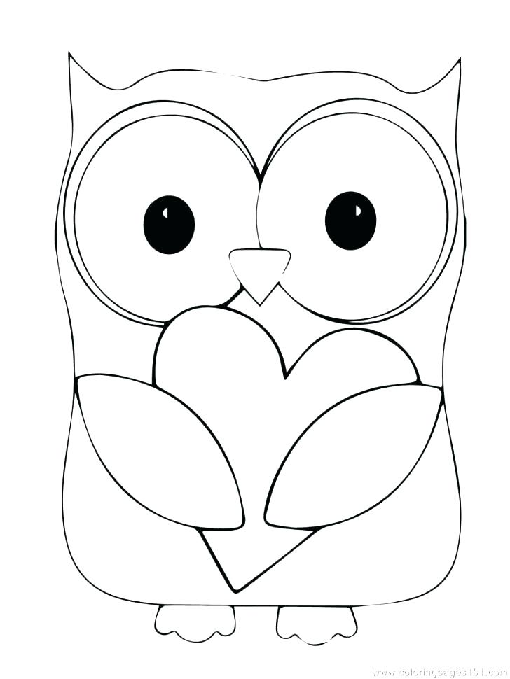 728x970 Snowy Owl Coloring Pages Owl Coloring Pages To Print Plus Snowy
