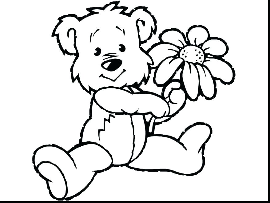 Cute Panda Bear Coloring Pages At Getdrawings Com Free For
