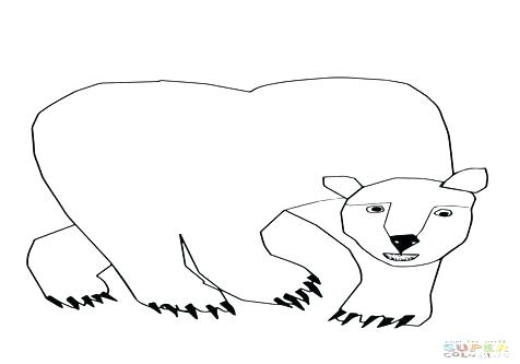 476x333 Excellent Polar Bear Coloring Page Print Pictures Baby Pages Colo