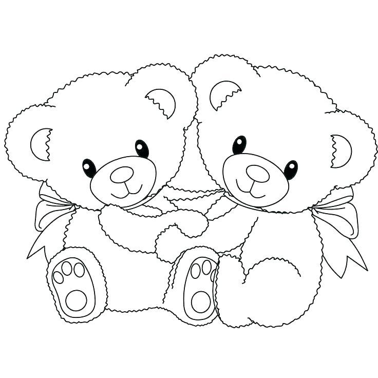 736x736 Teddy Bear Printable Coloring Pages Polar Bear Printable Coloring