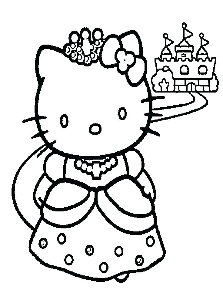 Cute Princess Coloring Pages