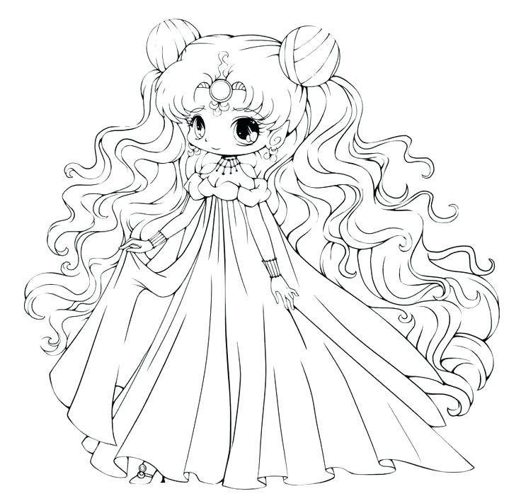 736x707 Anime Coloring Pages Cute Anime Girl Coloring Pages Anime Girl