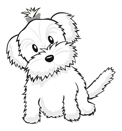 Cute Puppy Coloring Pages At Getdrawings Com Free For Personal Use