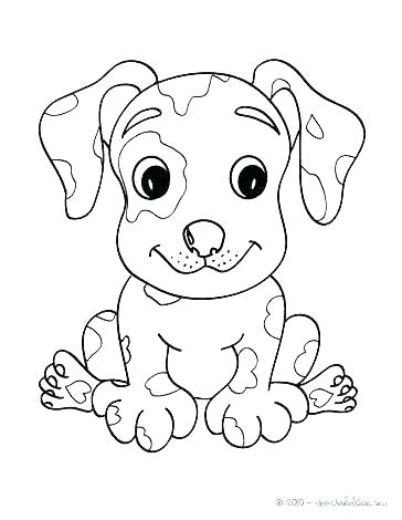 364x470 Printable Puppy Coloring Pages Cute Puppy Coloring Sheets Puppy