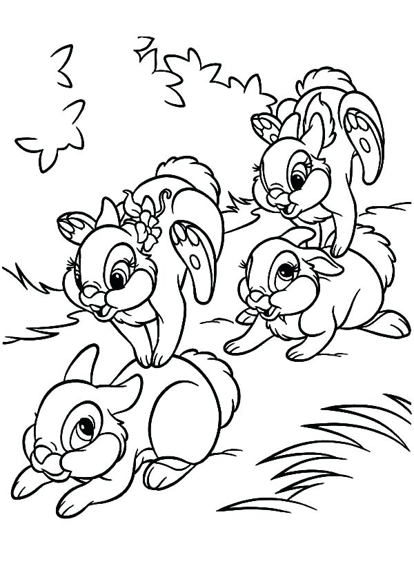 600x840 Coloring Pages Of Bunnies Bunny Coloring Page Coloring Pages