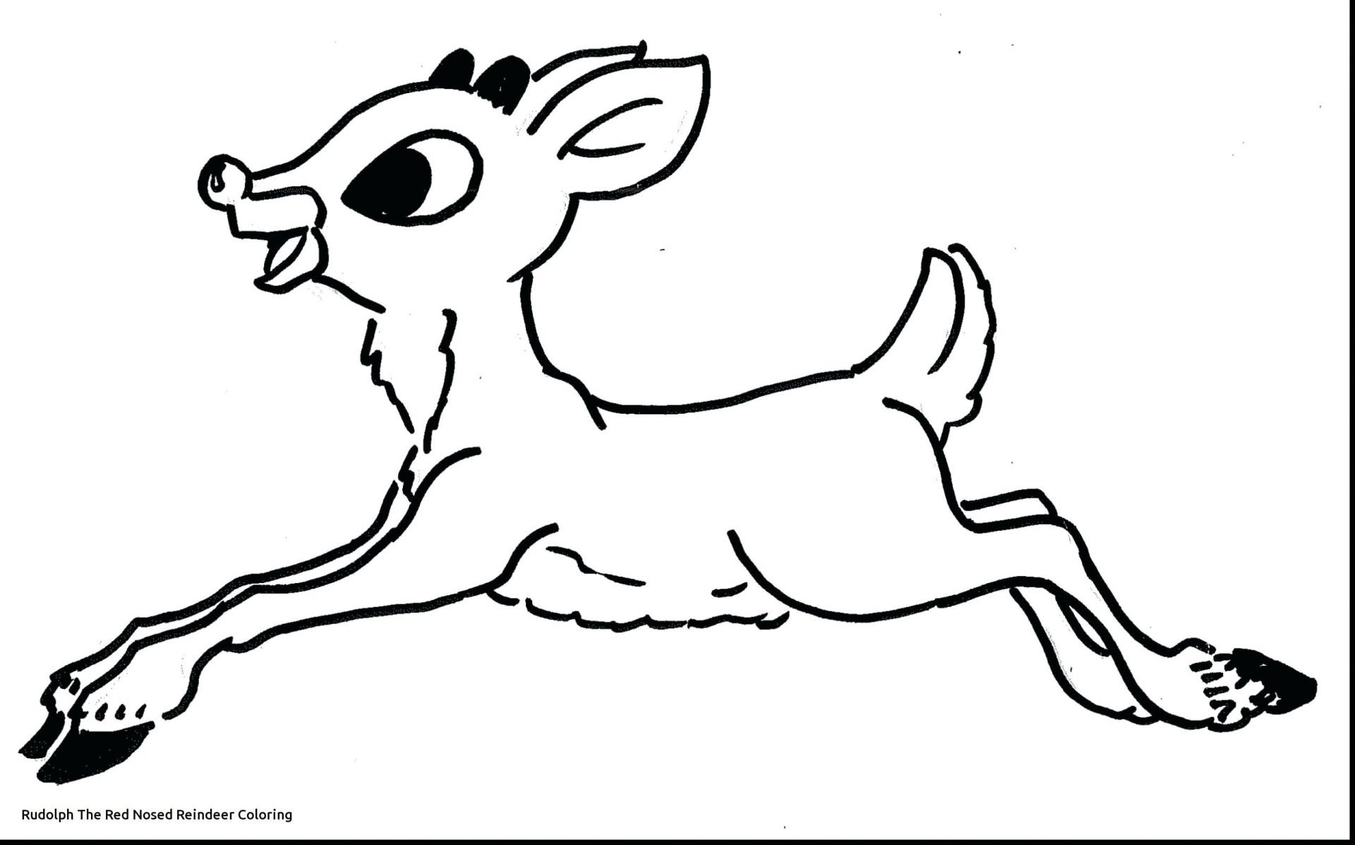 1920x1197 Comet The Reindeer Coloring Pages Photo Concept Santaable Antlers