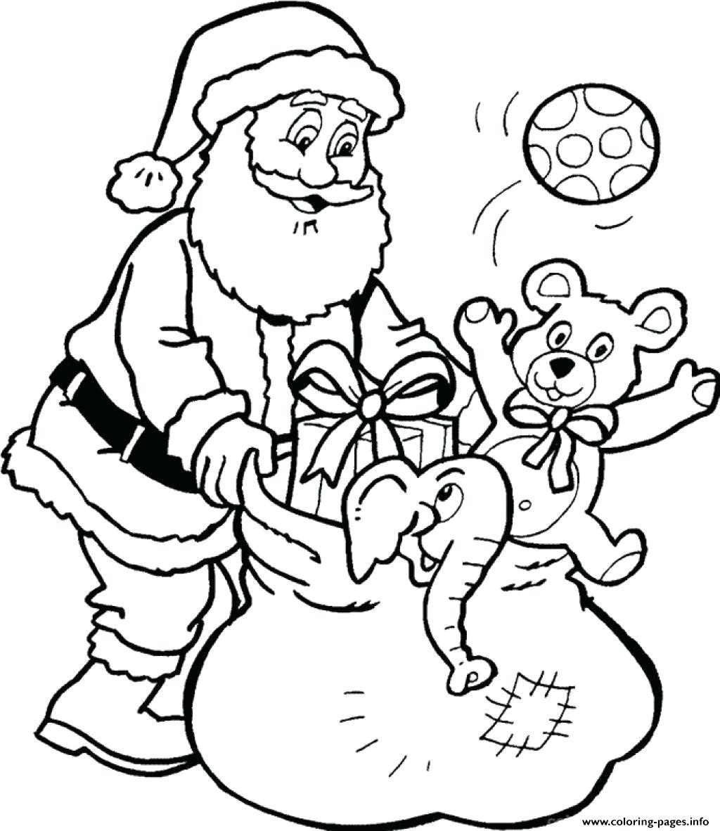 1024x1182 Lovely Winter Holidays Santa Claus Coloring Pages Womanmate Free