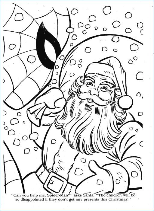 512x699 Cute Santa Reindeer Christmas Coloring Page