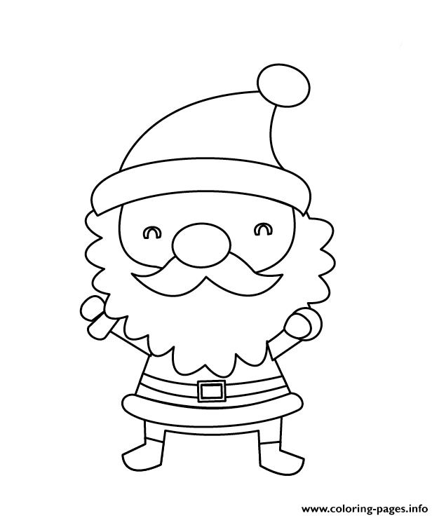 626x739 Small Christmas Coloring Pages Cute Small Santa Claus Christmas