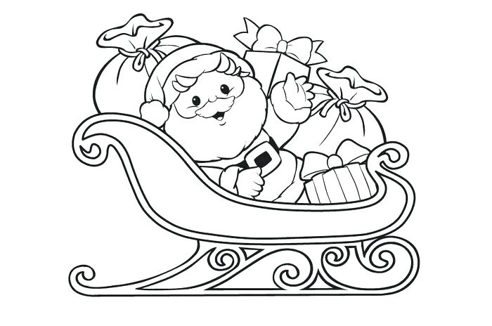 700x464 Coloring Page Santa Free Coloring Pages Best Templates Shapes
