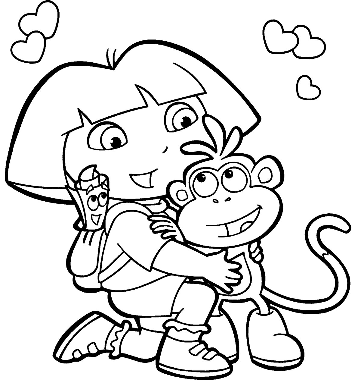 1200x1261 Plain Cute Scarecrow Coloring Pages Concerning Amazing Article