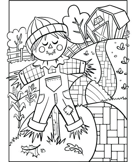 471x560 Scarecrow Coloring Pages Scarecrow Cute Scarecrow Coloring Pages