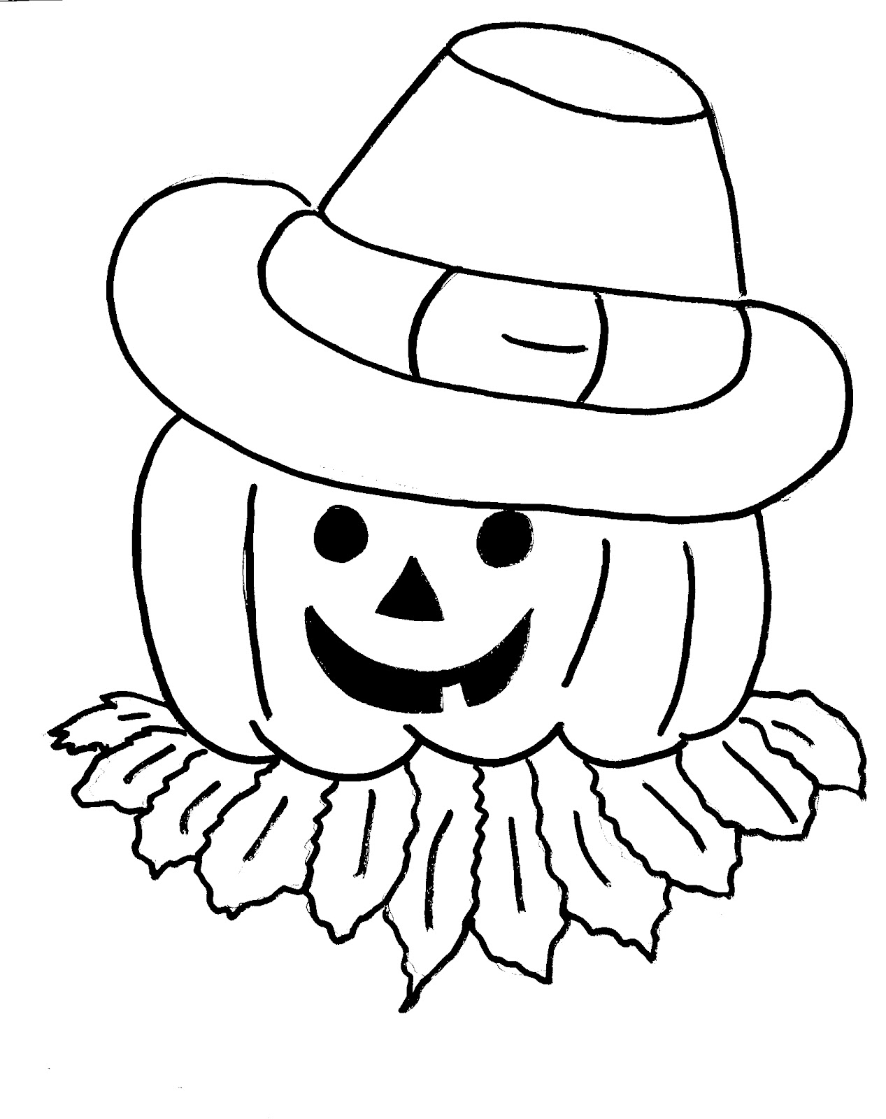 1267x1600 Best Of Fantastic Scarecrow Coloring Pages