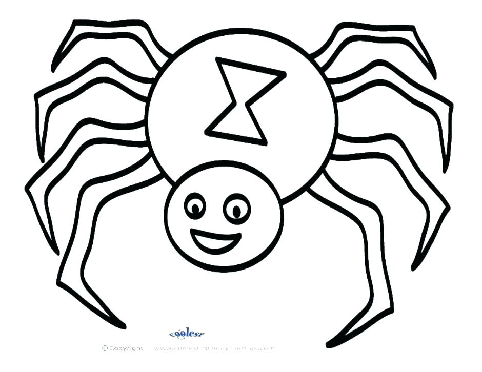 940x726 Spider Web Coloring Page Spider Color Page Spider Web Coloring