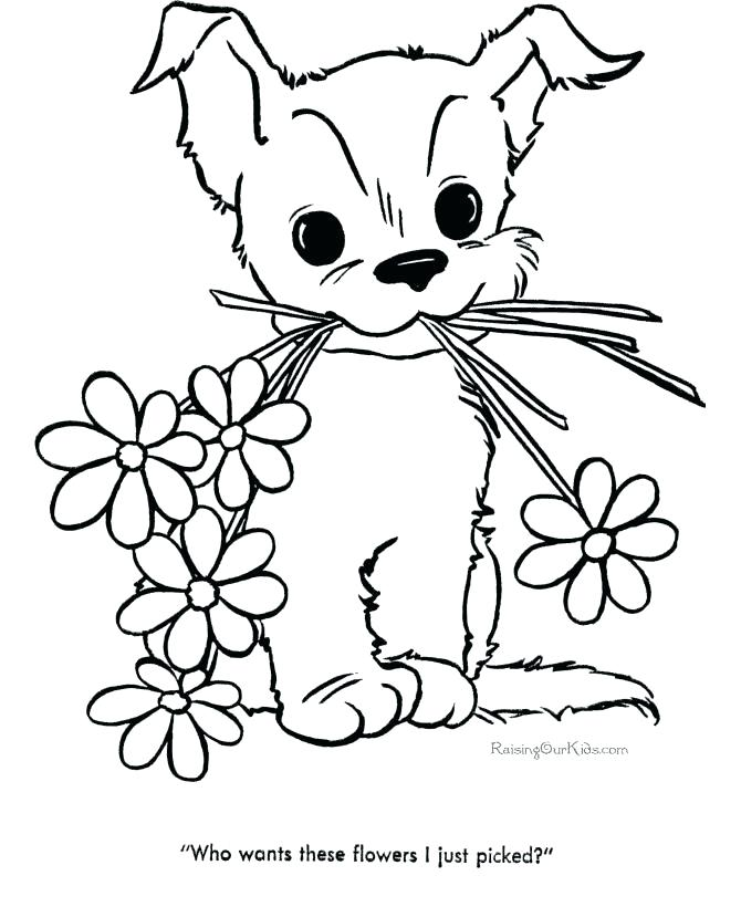 670x820 Fresh Coloring Pages Flower For Cute Flower Coloring Pages Spring