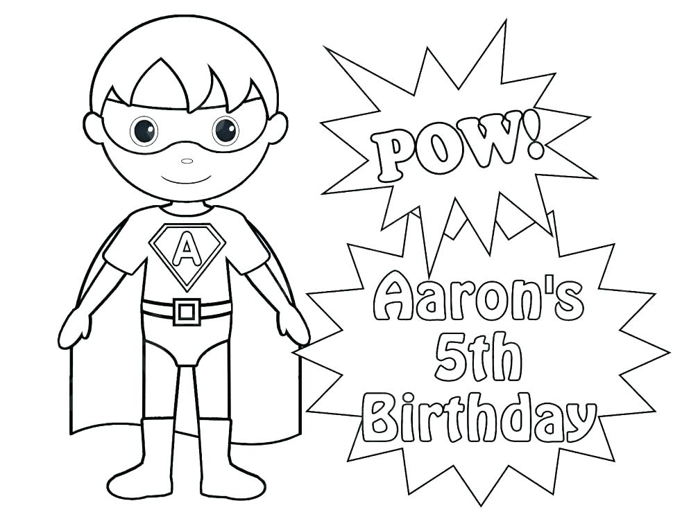970x749 Super Hero Coloring Page Free Superhero Coloring Pages For Super