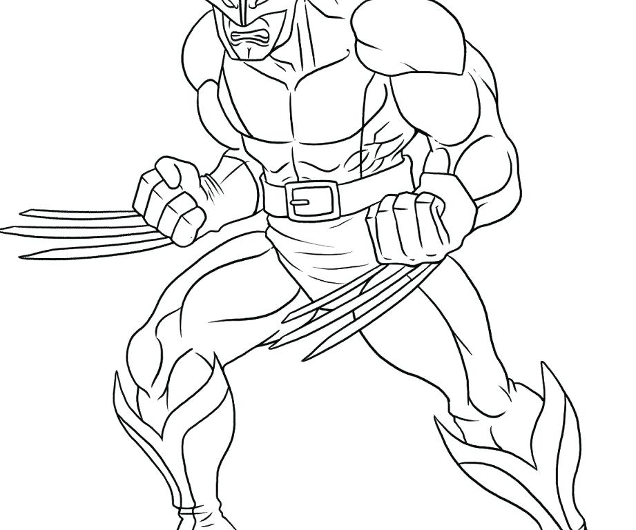 921x768 Superhero Color Pages Printable Cute Wolverine Coloring Pages
