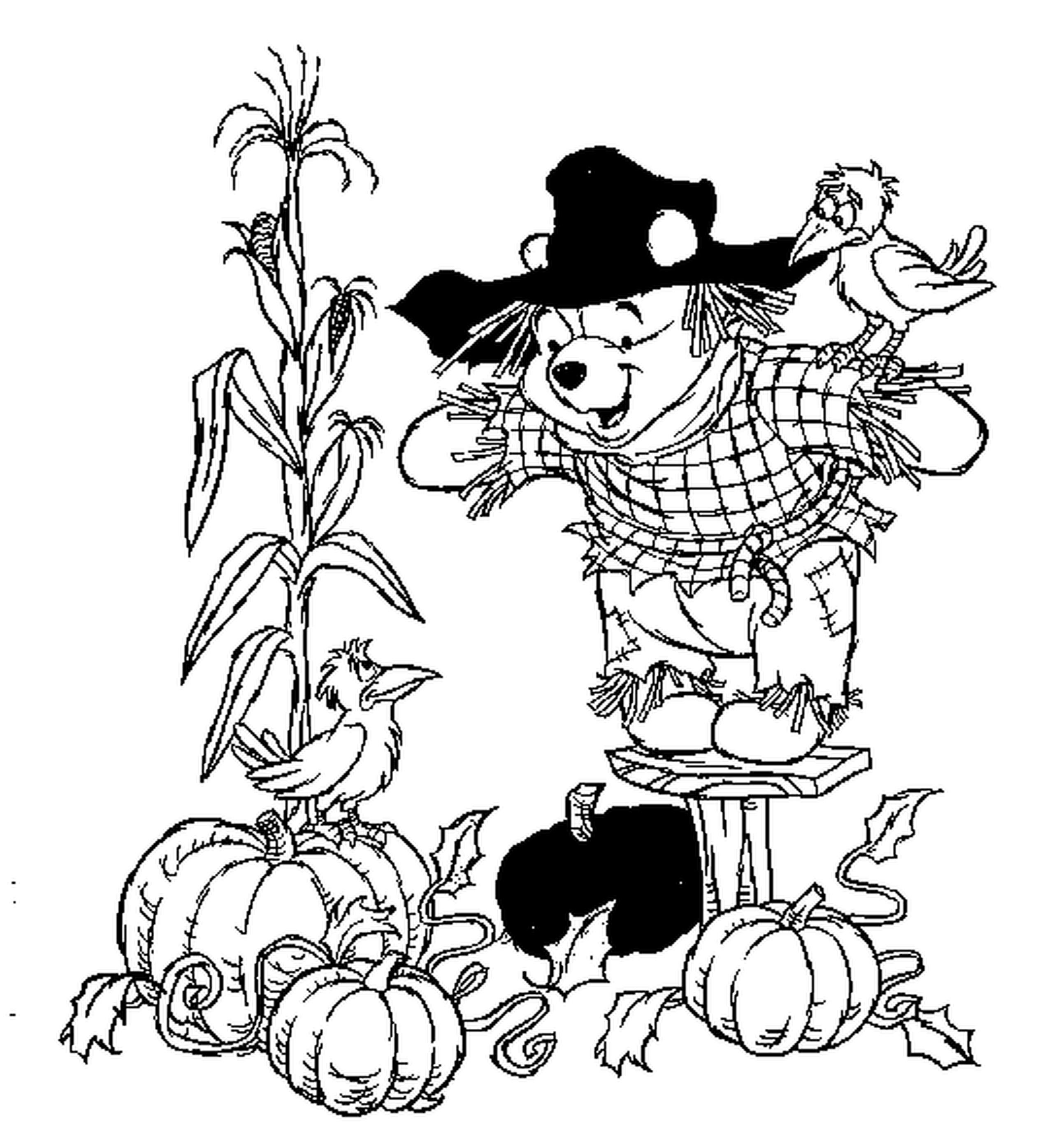 2550x2791 Fascinating Fall Coloring Pages Printable Cute For Kid Trend