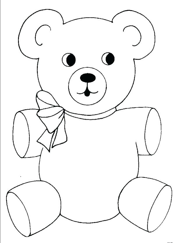 618x835 Cute Bear Coloring Pages Teddy Bear Coloring Pages Free Printable