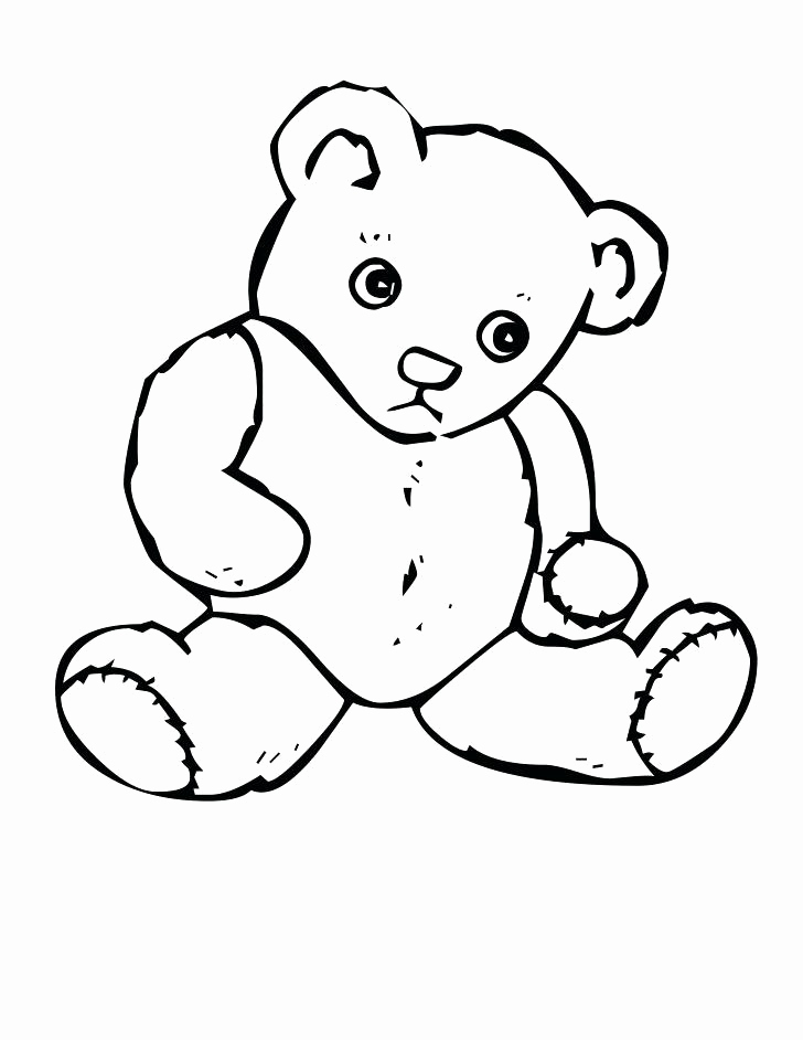 728x942 Cute Teddy Bear Coloring Pages Gallery Coloring Page Teddy Bear