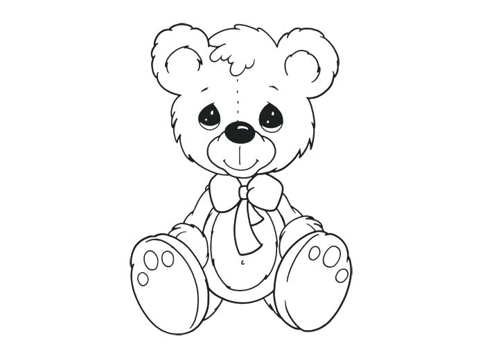 700x500 Cute Teddy Bear Coloring Pages Teddy Bear Coloring Pages Theme