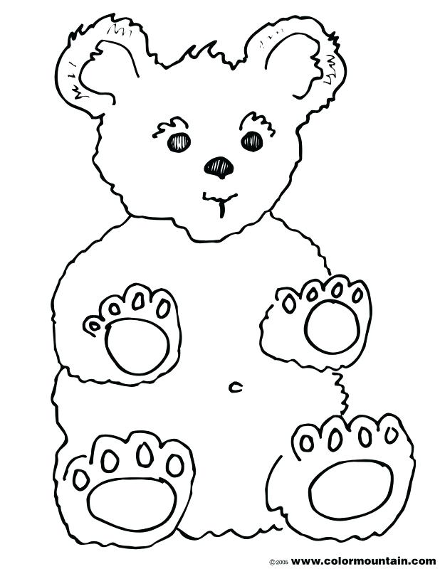 618x800 Cute Teddy Bear Coloring Picture Coloring Page Cute Teddy Bear