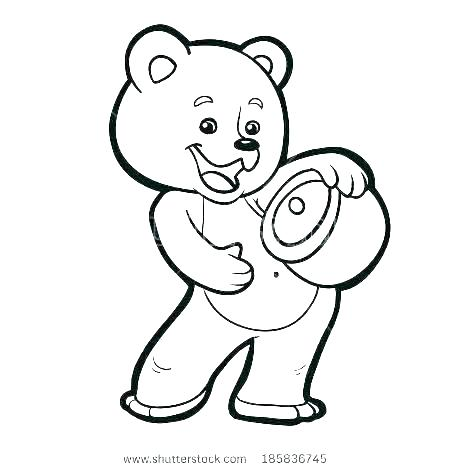 450x470 Teddy Bear Coloring Page This Coloring Page For Kids Features