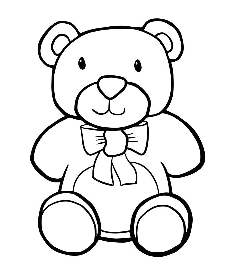 800x945 Teddy Bear Coloring Pages For Kids Teddy Bear Teddy Bear Coloring