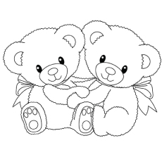 230x230 Top Free Printable Teddy Bear Coloring Pages Online