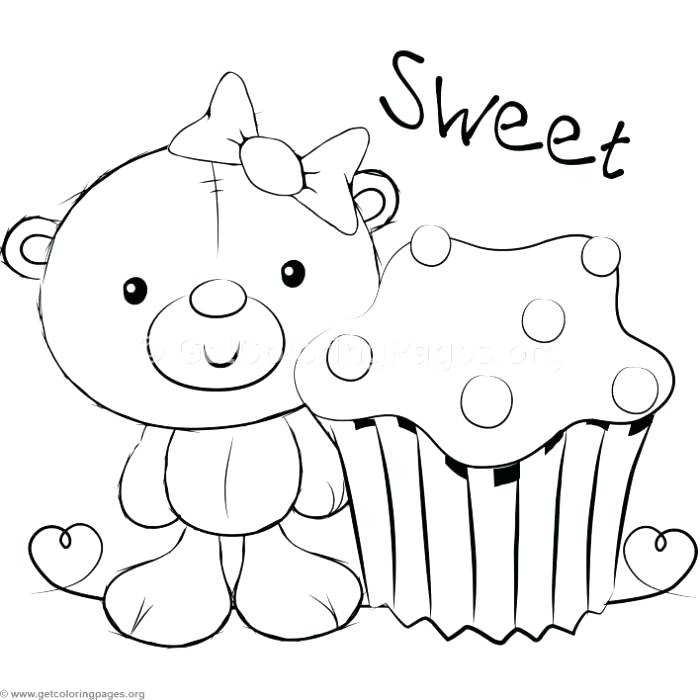 700x700 Coloring Pages Teddy Bears Cute Teddy Bears Coloring Pages