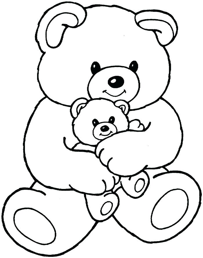700x889 Cute Bear Coloring Pages Cute Teddy Bear Coloring Pages Cute Baby
