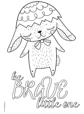 Cute Teen Coloring Pages