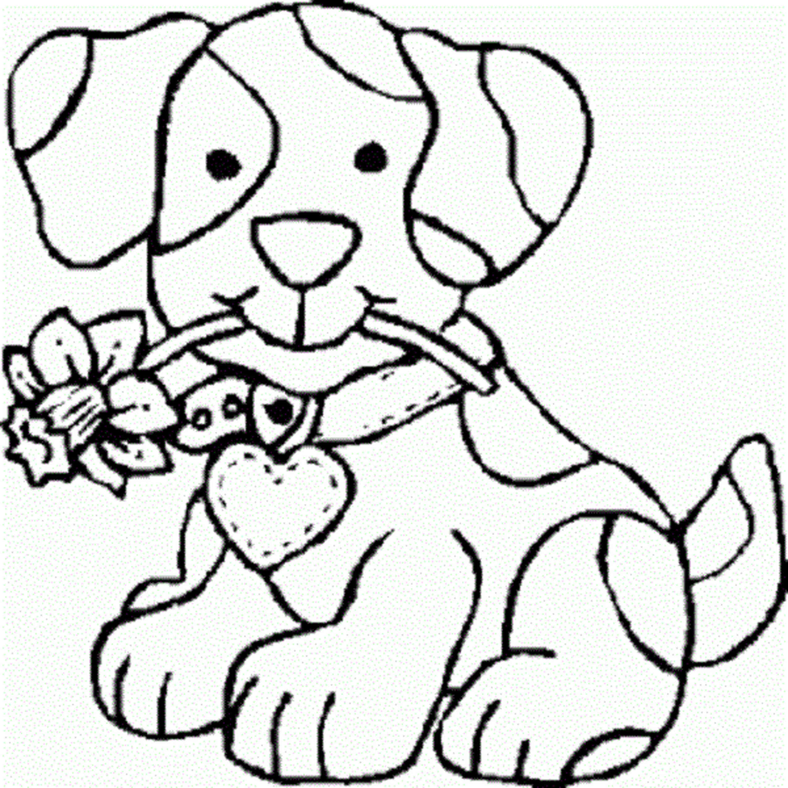 2550x2550 Coloring Pages For Teenage Girls Dog Cute