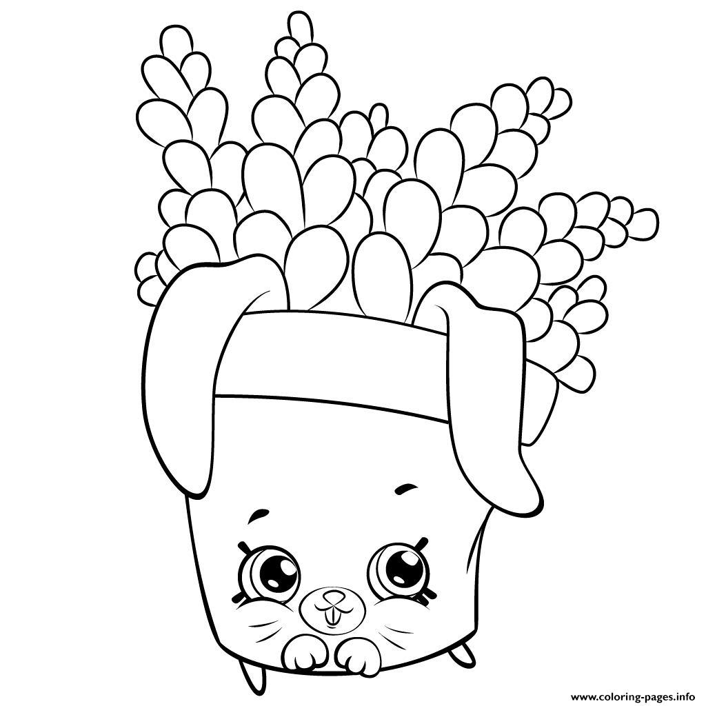 1024x1024 Cute Things Coloring Pages Shopkins Download