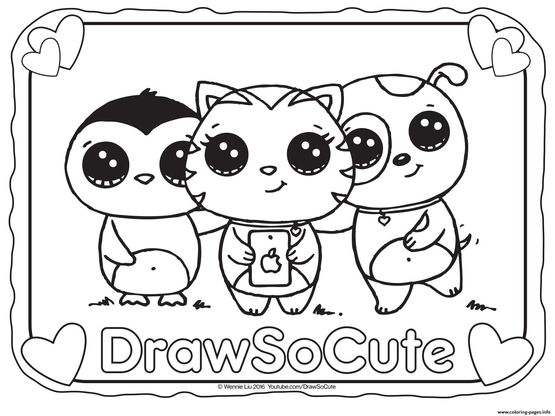 1893x1417 Collection Of Solutions Coloring Pages Of Cute Things For Print