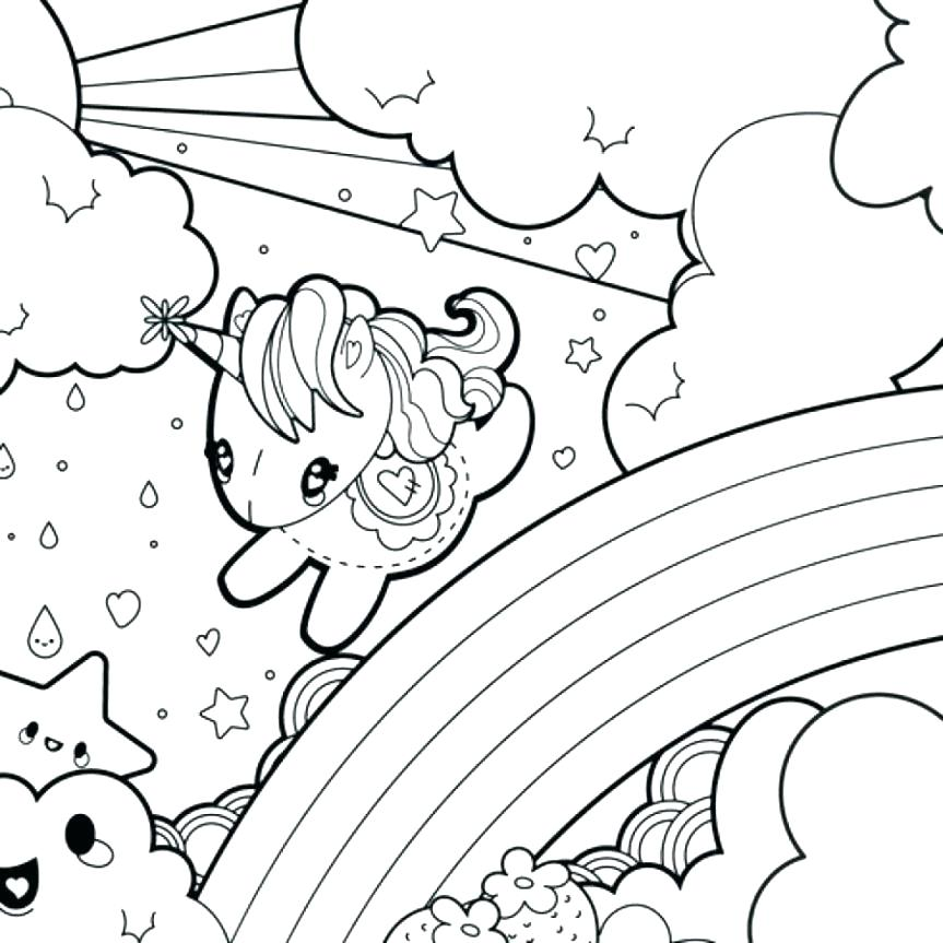 Cute Unicorn Coloring Pages at GetDrawings   Free download