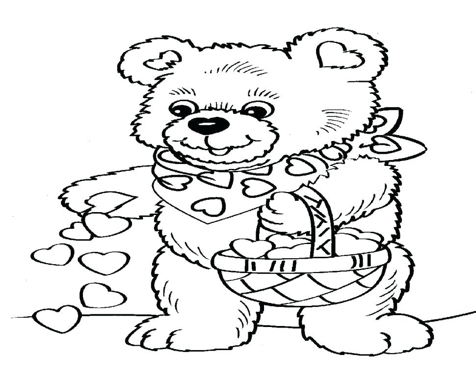 970x776 Remarkable Valentine Printable Coloring Pages Cute Valentines Day