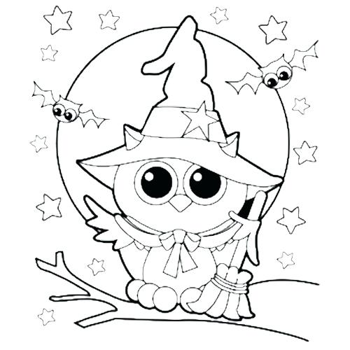 500x500 Cute Witch Coloring Pages Cute Witch Coloring Pages Cartoon Witch