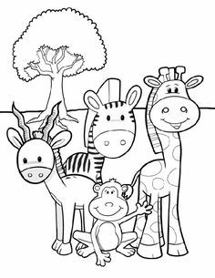 236x305 Animal Coloring Pages For Kids Animal And Adult Coloring